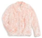 Milly Minis Toddler Girl's Faux Fur Jacket