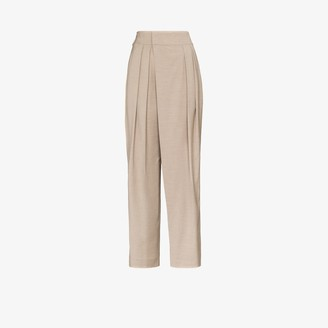 Low Classic High Waist Tapered Trousers