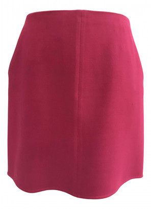 Paule Ka Red Viscose Skirts