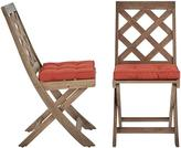 Martha Stewart Living Calderwood Outdoor Dining Chairs - Set of 2