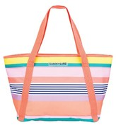 Sunnylife Stripe Cooler Bag
