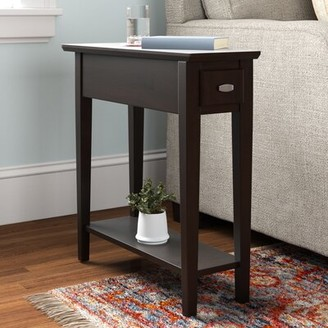 Three Posts Maddux End Table with Storage