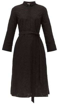 Le Sirenuse Positano Le Sirenuse, Positano - Lucy Embroidered Cotton Shirtdress - Black