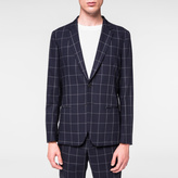 Paul Smith A Suit To Travel In - Tailored-Fit Navy Windowpane Check Blazer