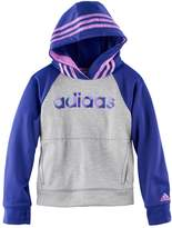 adidas Girls 4-6x Raglan Colorblock Hoodie
