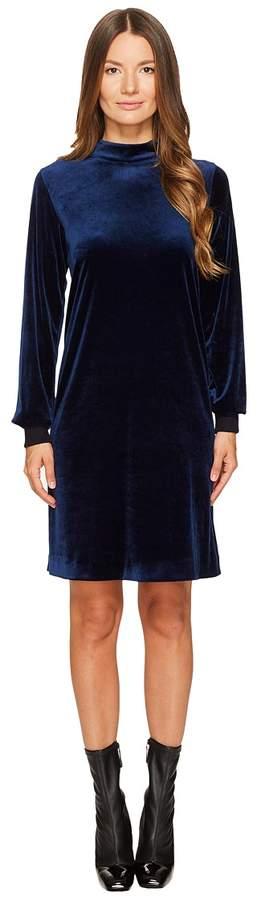 Sonia Rykiel Fluid Velvet Dress