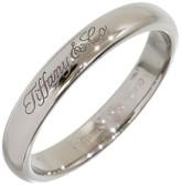 Tiffany & Co. 950 Platinum Wedding Logo Band Ring Size 5.75
