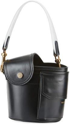Sacai Thermos Leather Bucket Bag