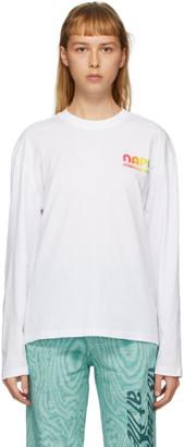 Martine Rose NAPA by White S-Ogo Long Sleeve T-Shirt