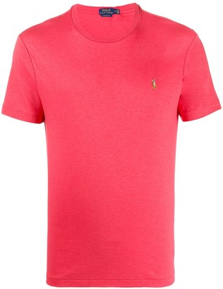 Polo Ralph Lauren embroidered logo crew-neck T-shirt