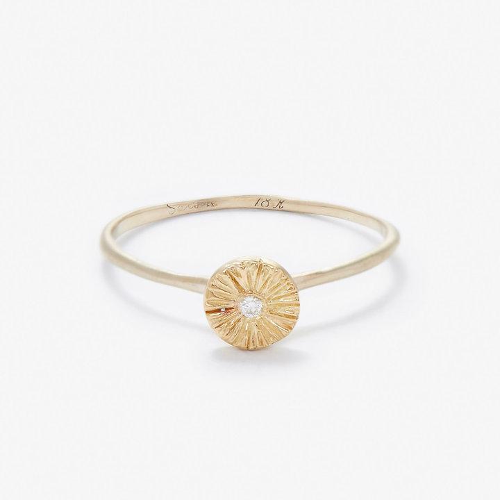Steven Alan SATOMI KAWAKITA sunburst diamond ring
