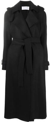 Harris Wharf London Long-Sleeved Belted Coat