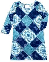 Jessica Simpson Girls 7-16 Enya Mixed Pattern Dress