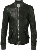 Guidi Colour Block Bomber Jacket