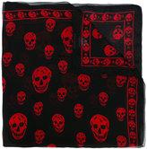 Alexander McQueen Skull scarf - unisex - Silk - One Size