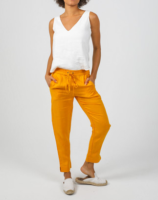 Madewell Lanhtropy Linen Lotus Jogger Pants