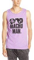 WWE Men's Legends Macho Man Authentic Tank Top