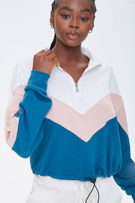 Forever 21 Colorblock French Terry Pullover