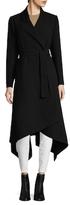 Oscar de la Renta Asymmetrical Wool Coat