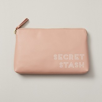 Indigo Secret Stash Pouchette Blush