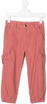Marie Chantal Cargo Corduroy Trousers