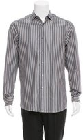 Ermenegildo Zegna Striped Button-Up Shirt w/ Tags