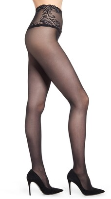 Natori Feather Lace Top 2-Pack Tights