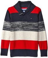 Tommy Hilfiger Ron Shawl Sweater (Toddler/Little Kids)