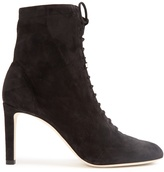 Jimmy Choo Daize lace-up suede ankle boots