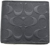 Coach Coin Wallet Signature Men's