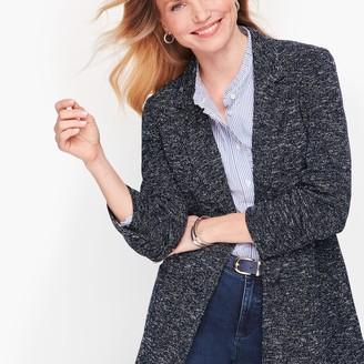 Talbots Tweed Knit Jacket