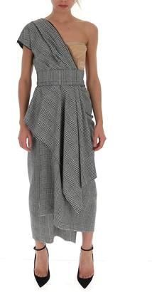 Dolce & Gabbana One-Shoulder Asymmetric Dress