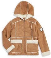 Urban Republic Girls 7-16 Hooded Faux Fur Lined Jacket