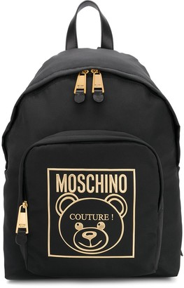 Moschino Teddy Label backpack