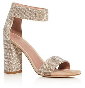Jeffrey Campbell Women's Ankle-Strap Block High-Heel Sandals