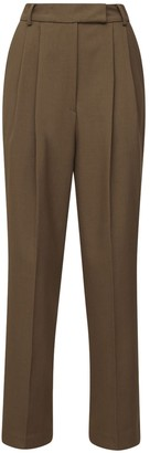 The Frankie Shop Bea Twill Straight Pants
