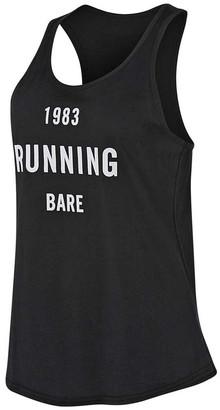Running Bare Womens Maverick Action Back Tank
