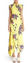 Proenza Schouler Women's Floral Print Silk Georgette Dress