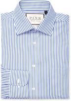 Thomas Pink Men's Brookland Stripe Classic Fit Traveler Dress Shirt