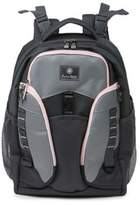 Jeep J is for Adventures Backpack Diaper Bag in Grey/Pink