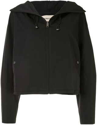 PortsPURE Hooded Boxy-Fit Jacket