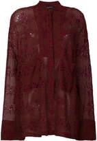 Ann Demeulemeester broderie anglaise blouse