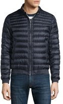 Moncler Garin Lightweight Quilted Down Jacket, Navy