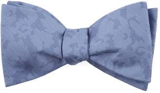 The Tie BarThe Tie Bar Periwinkle Refinado Floral Bow Tie