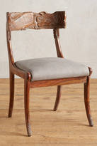 Anthropologie Handcarved Fable Dining Chair
