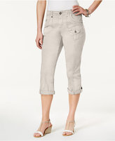 Style&Co. Style & Co Petite Coin-Pocket Capri Pants, Only at Macy's