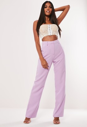 Missguided White Lace Bandeau Top
