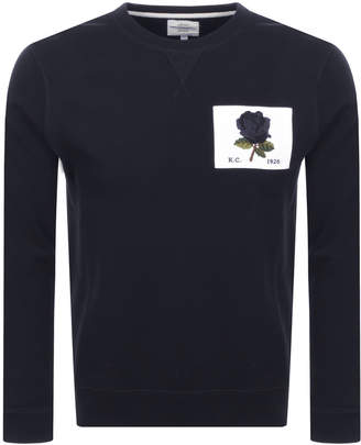 Kent And Curwen 1926 Icon Sweatshirt Blue