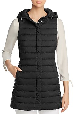 Herno Hooded Woven Vest