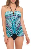 Profile By Gottex Flyaway Tankini Top